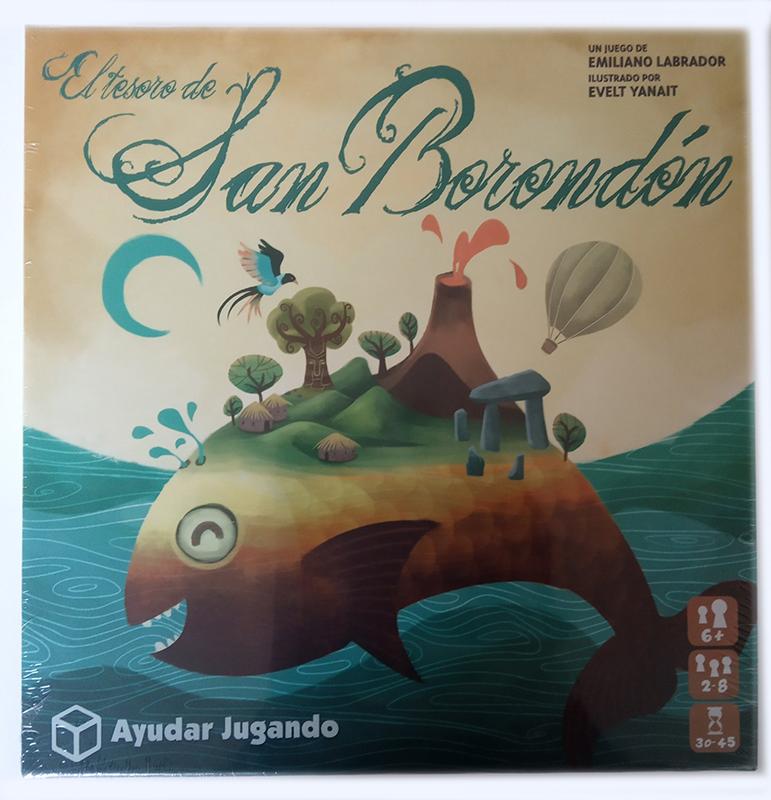 Frontal de la caja de El Tesoro de San Borondón